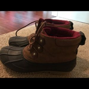 Tommy Hillfiger duck boots